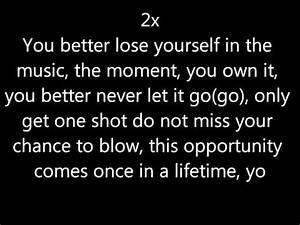 Lose Yourself Eminem Lyrics Linkin Park Remix Doovi