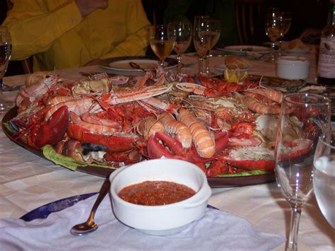 haute cuisine recipes list of seafood dishes