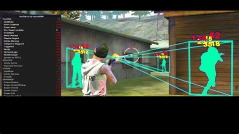 This hack works for ios, android and pc! FREE FIRE HACK|MOD MENU 1.47.7 ESP/AIMBOT/100% HS ...