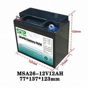 Long Lasting 12 Volt Lithium Battery Pack   12v Battery