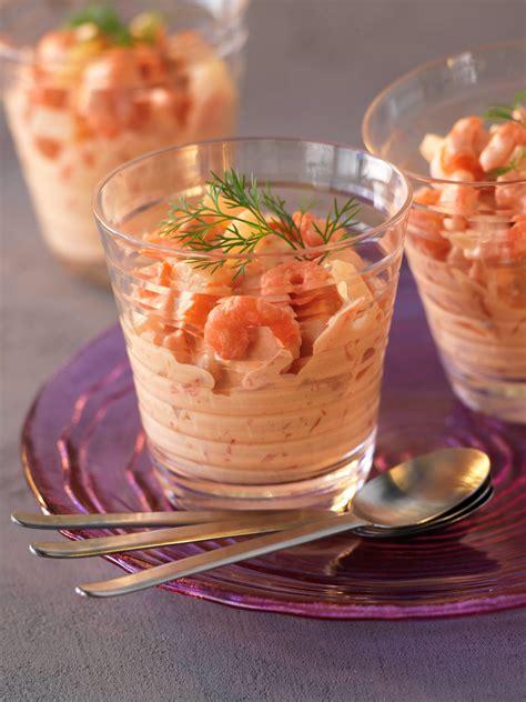 recette cuisine az verrines de crevettes cuisine az