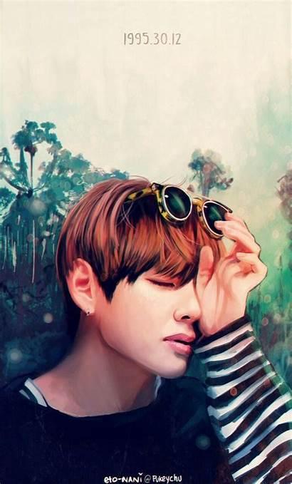 Bts Fan Fanart Wallpapers Eto Nani Tae