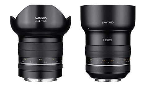 samyang for canon xp 14mm f 2 4 ibc 2016 samyang introduces its premium 85mm f 1 2 and