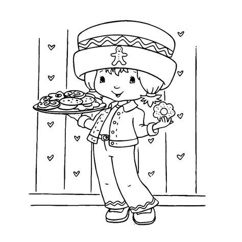 Kleurplaat Een Paar Meiden Starbery Schortcake by Leuk Voor Strawberry Shortcake 0005