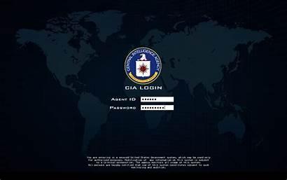 Cia Screen Login Log Fbi Wallpapers Desktop