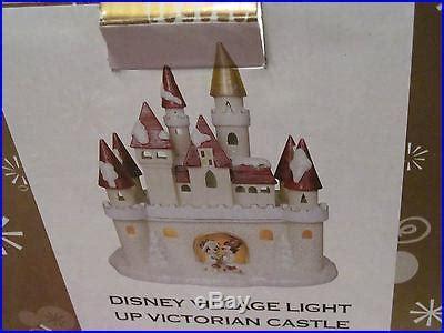 disney village light  victorian castle  mickey