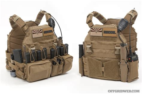 plate carrier setup upgrading  tyr tactical pico ds recoil offgrid