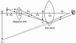 Which Ray Diagram Is Correct For A Compound Microscope