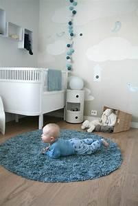 Babyzimmer Junge Wandgestaltung : niedliche babyzimmer wandgestaltung inspirierende wandgestaltung ideen ~ Eleganceandgraceweddings.com Haus und Dekorationen