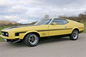 Ford Mustang 72 Fastback Mach 1 | NR Classic Car Collection Stuttgart