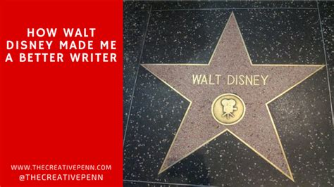 How Walt Disney Made Me A Better Writer  The Creative Penn
