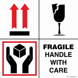 Fragile Handle With Care Glass | www.imgkid.com - The ...