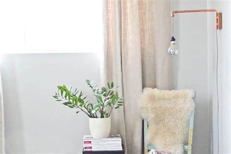 diy wall sconce a diy wall sconce made from copper pipes is the
