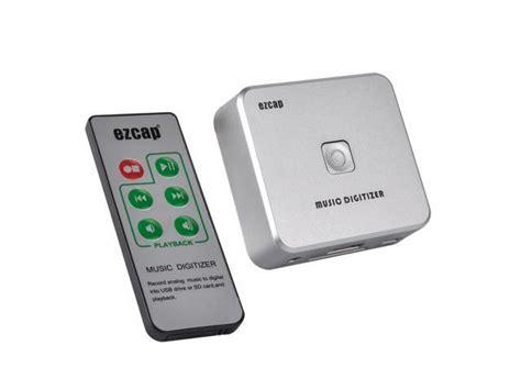 ezcap   digitizer converter audio recorder convert analog    disk sd card mp