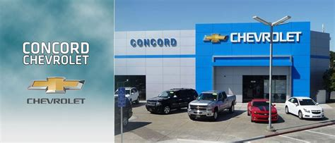 Concord Chevrolet Is A Bay Area Chevy Dealer Near Walnut