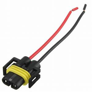 New H8 H11 Female Adapter Wiring Harness Socket Car Auto