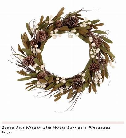 Wreaths Designcrushblog Wreath Artificial Felt Crush Door