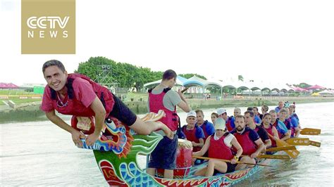 Chinese Dragon Boat Festival Youtube by Chinese Ambassador Attends Dragon Boat Festival In Israel