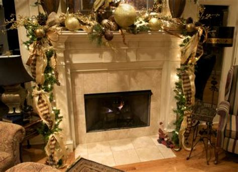 mantel christmas decoration ideas gallery lovetoknow