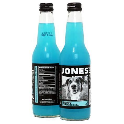 12-pack of JONES Berry Lemonade Cane Sugar Soda | Jones ...