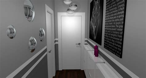 europeen de maison scheme specialement deco couloir gris