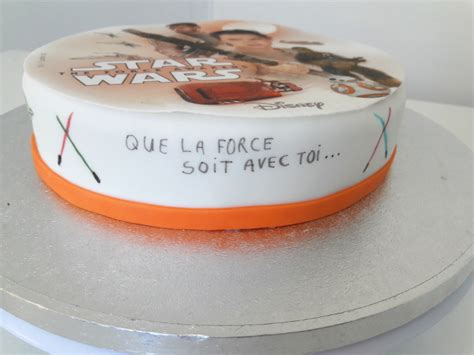 faire un gateau wars 7 facile univers cake