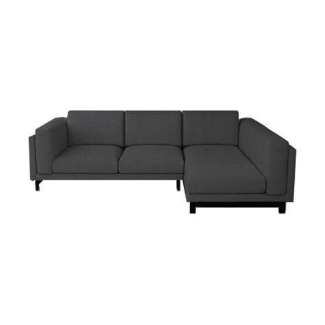 nockeby  seater  chaise sofa cover masters  covers