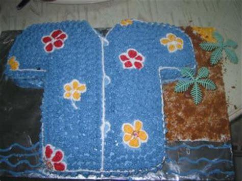 hawaiian shirt birthday cake