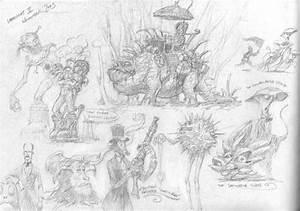 From the Larklight Sketchbook by 3hares on DeviantArt