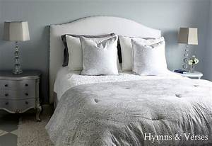DIY Upholstered Headboard Tutorial - Hymns and Verses