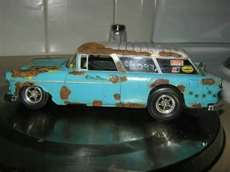 55 Chevy Nomad Nice Rust And Patina Paint Job