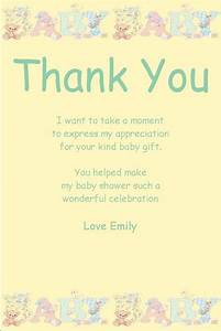 best 25 baby shower thank you ideas on pinterest baby With thank you letter after baby shower