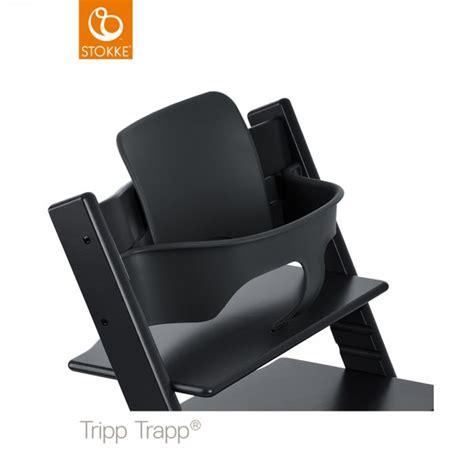 siege tripp trapp fauteuil bébé tripp trapp baby set noir de stokke en vente