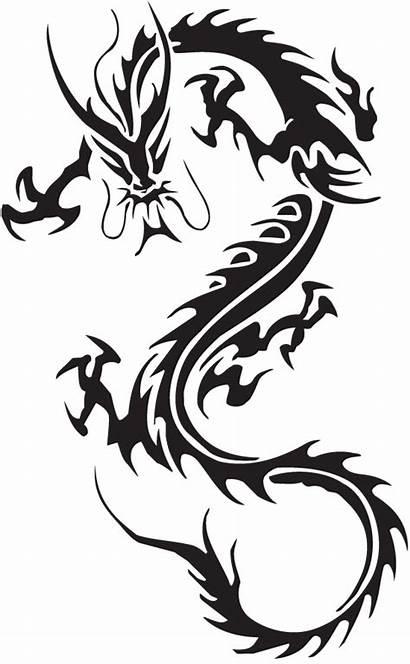 Dragon Tribal Tattoo Chinese Tattoos Simple Brilliant