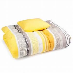 Matelas Bain De Soleil Epais : matelas bain de soleil en coton jaune gris 70 x 160 cm porto maisondumonde pinterest ~ Melissatoandfro.com Idées de Décoration