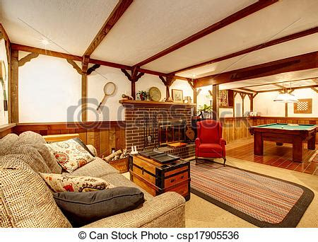 photos de vivant plafond confortable bois tapis rayons murs csp17905536 recherchez