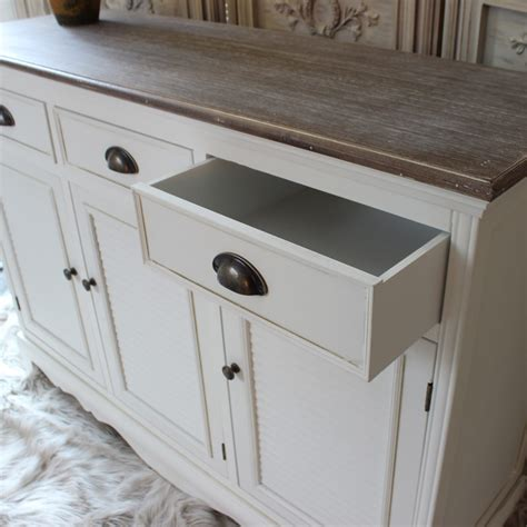 White Sideboard Cabinet by Large White Sideboard Cabinet Melody Maison 174