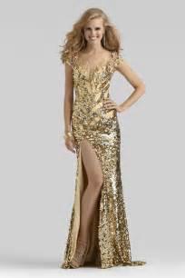clarisse 2014 24ct gold high neck sheer sequin cap sleeve