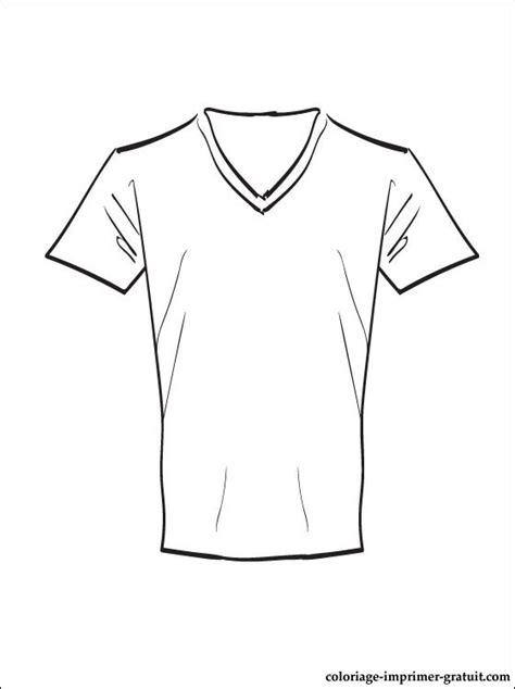 coloriage  dessin tee shirt  imprimer coloriage