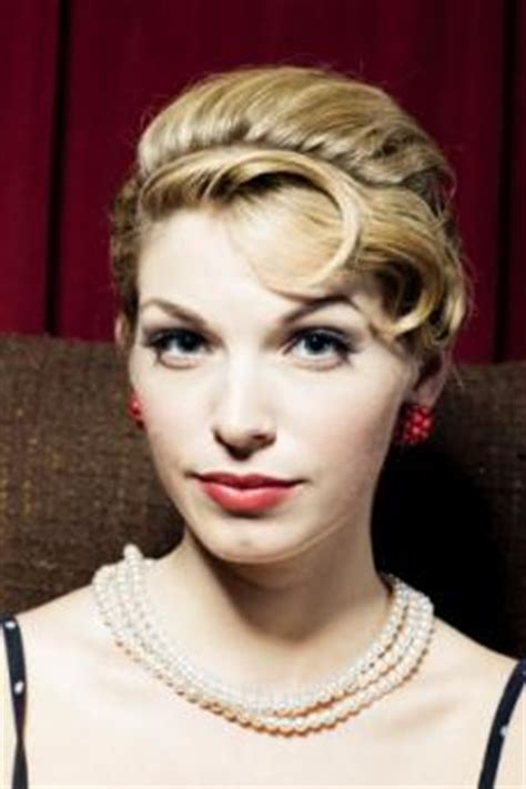 Simple 50s Hairstyles by 50s Updo With Pin Curls Lovetoknow