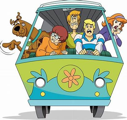 Scooby Doo Gang Mystery Machine Transparent Characters