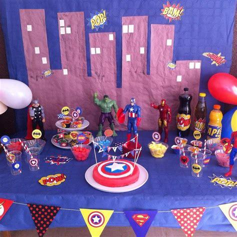 anniversaire de super heros  ans en   ans