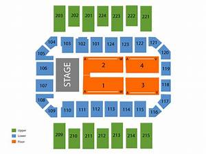 James Brown Arena Seating Chart  U0026 Events In Augusta  Ga