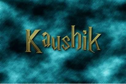 Kaushik Text Logos Hogwarts Animated