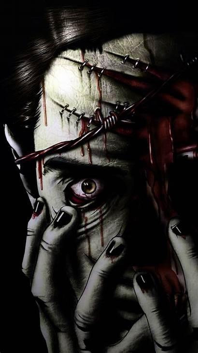 Zombie Horror Mobile Dark Wallpapers Evil Source