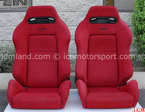 sieges recaro used honda ek9 civic type r recaro seats sold