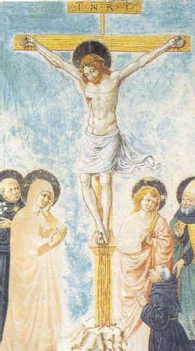 ai piedi della croce testo benozzo gozzoli