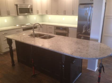 colonial white granite traditional kitchen grand