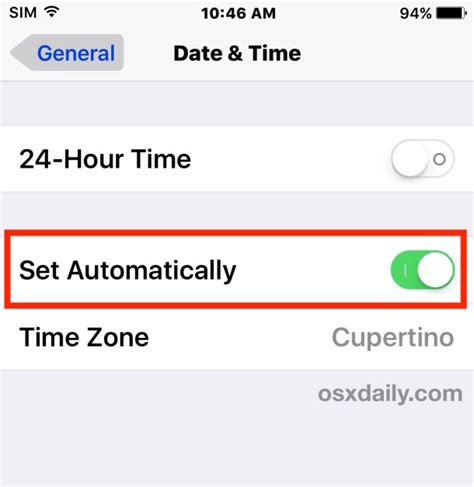 the time on my iphone is wrong iphone time wrong is your iphone showing wrong time