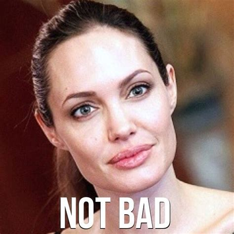 Angelina Meme - not bad meme boomsbeat